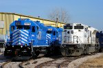 EMD Locomotives in Mid-America Car