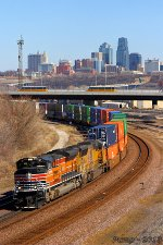 Westbound UP Intermodal Train