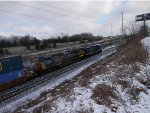 CSX 5 in the snow