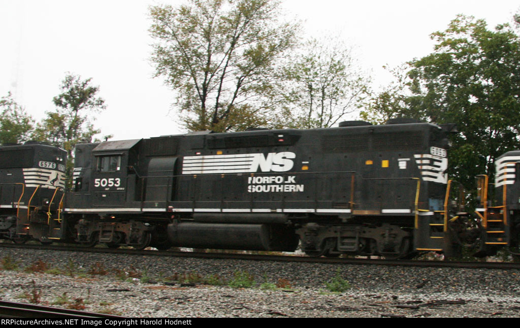 NS 5053, before it had a low nose installed