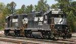 NS 5567 & 5107 sit in Durham