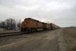 DPUs of BNSF 7053 west