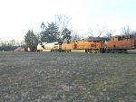 NS 64D with BNSF Power