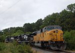 NS 64W With SD90MAC Leader