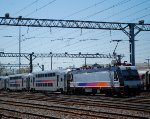 NJT 4634 In the Yard