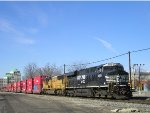 NS 8058 On NS 25 A Eastbound