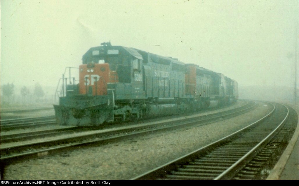SP 5316 in the fog