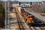 BNSF 7054 @ Tennessee Yard