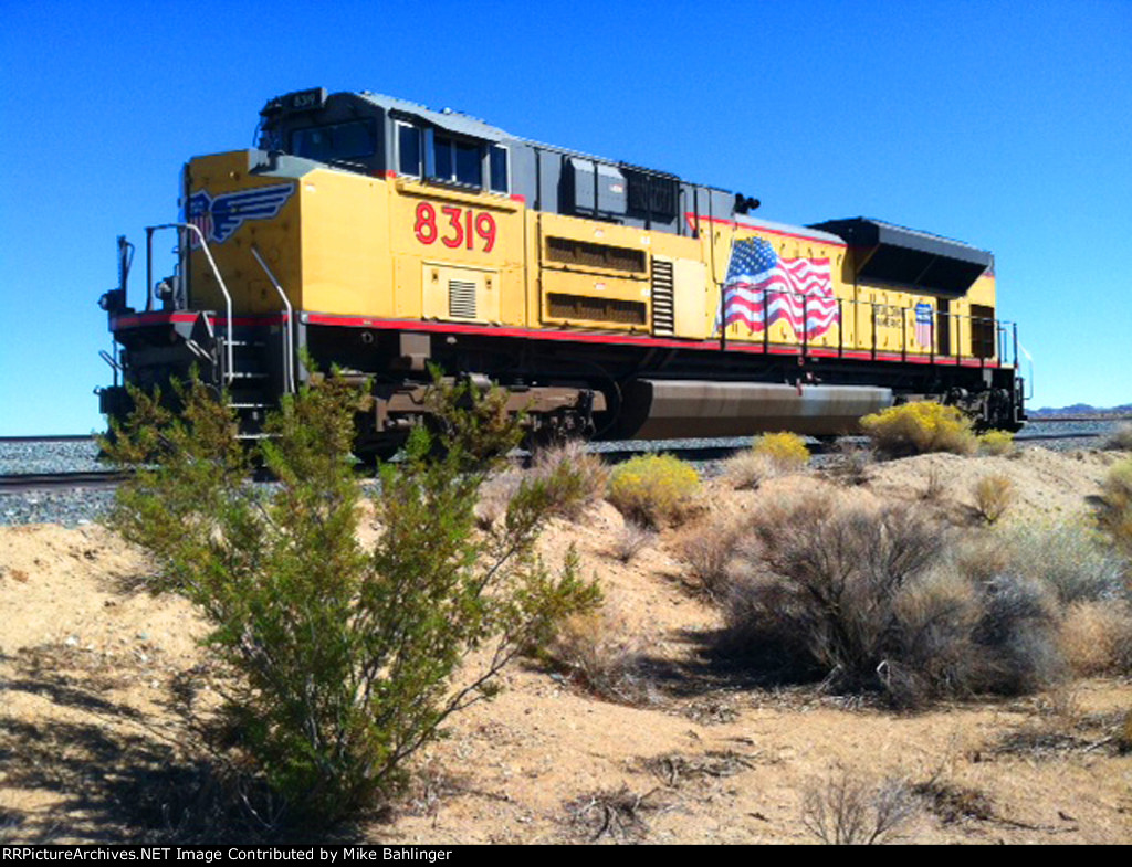 UP 8319 Along Hwy 395, Ridgecrest CA #1