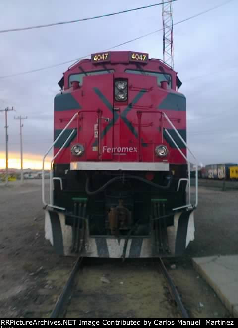 Ferromex SD70-ACe 4047 Tabalaopa,Chihuahua