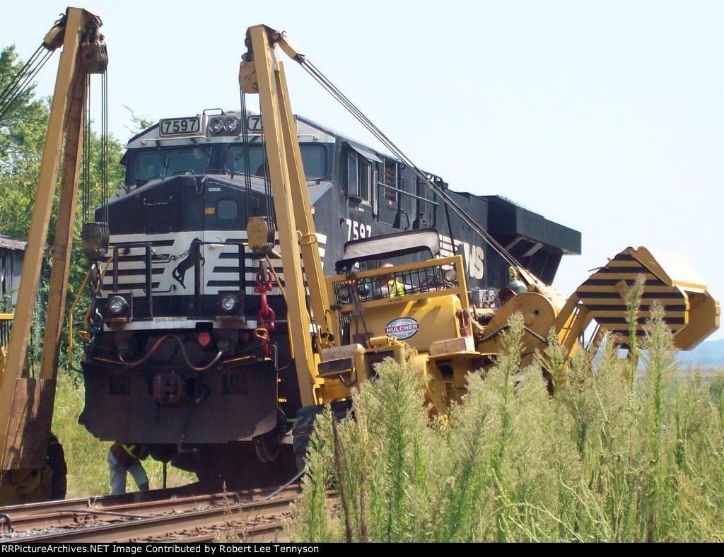NS 7597 Traction Motor Repair