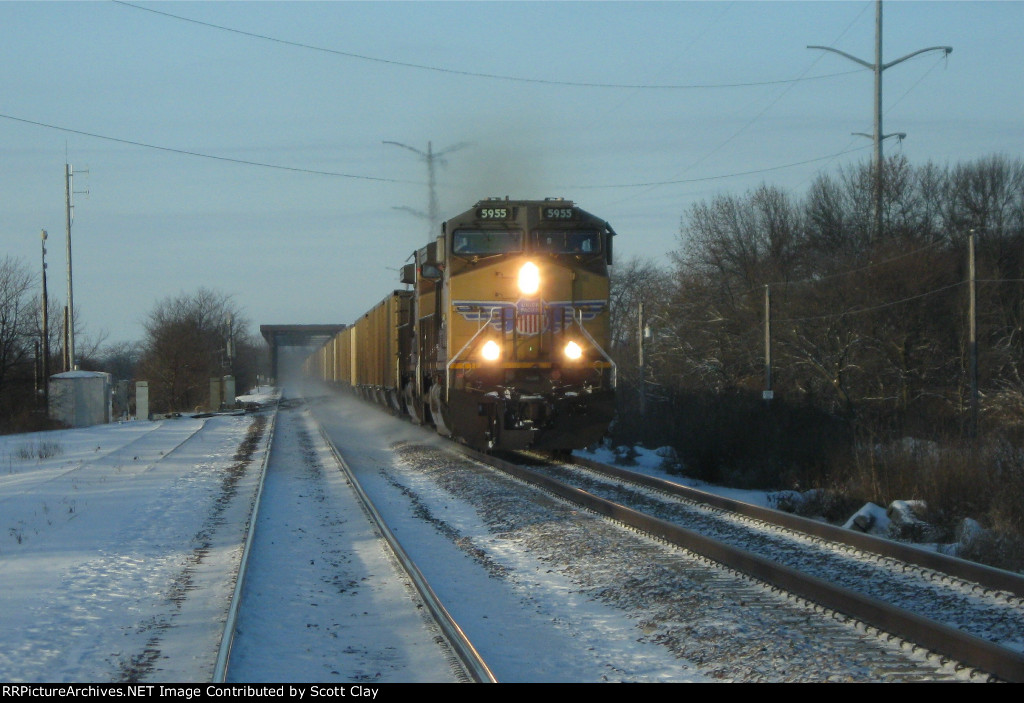 Eastbound coal at Nelson