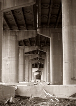 Under Interstate 80
