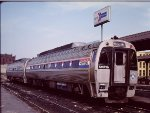 AMTK 999 - Amtrak SPV-2000s at Springfield - 1985