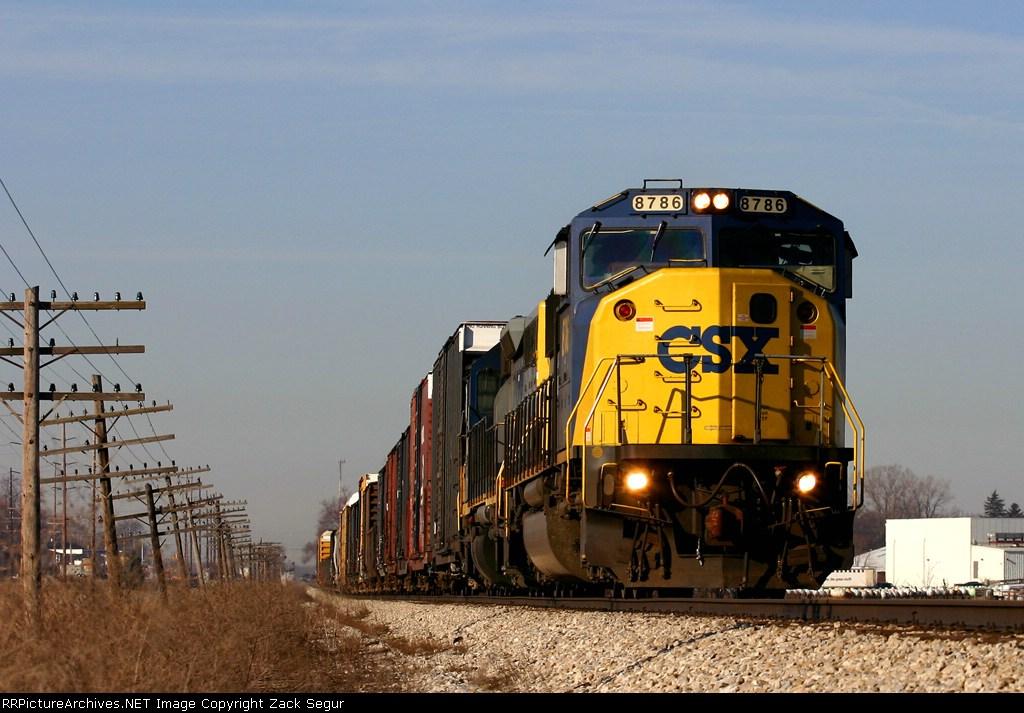 CSX 8786