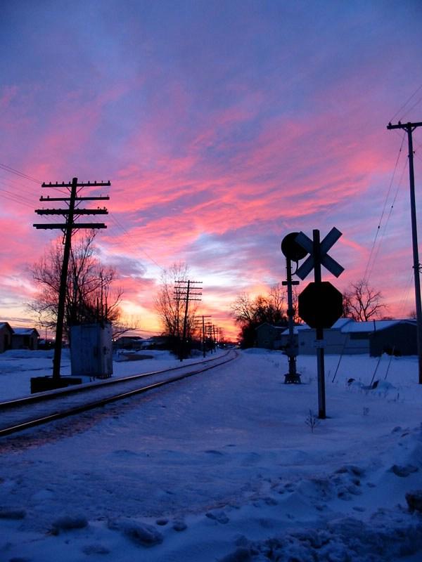 Jenison Sunset