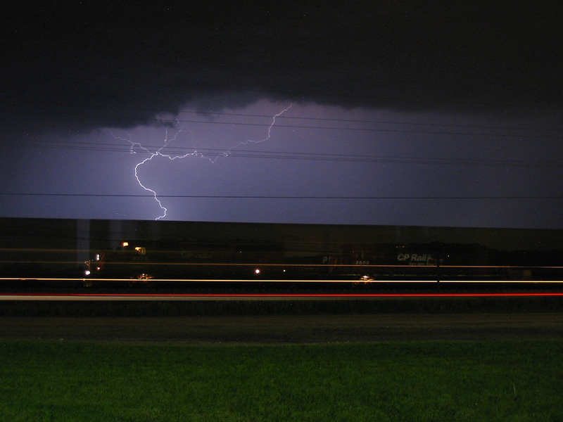 Lightning on CP X501 in Hudsonville