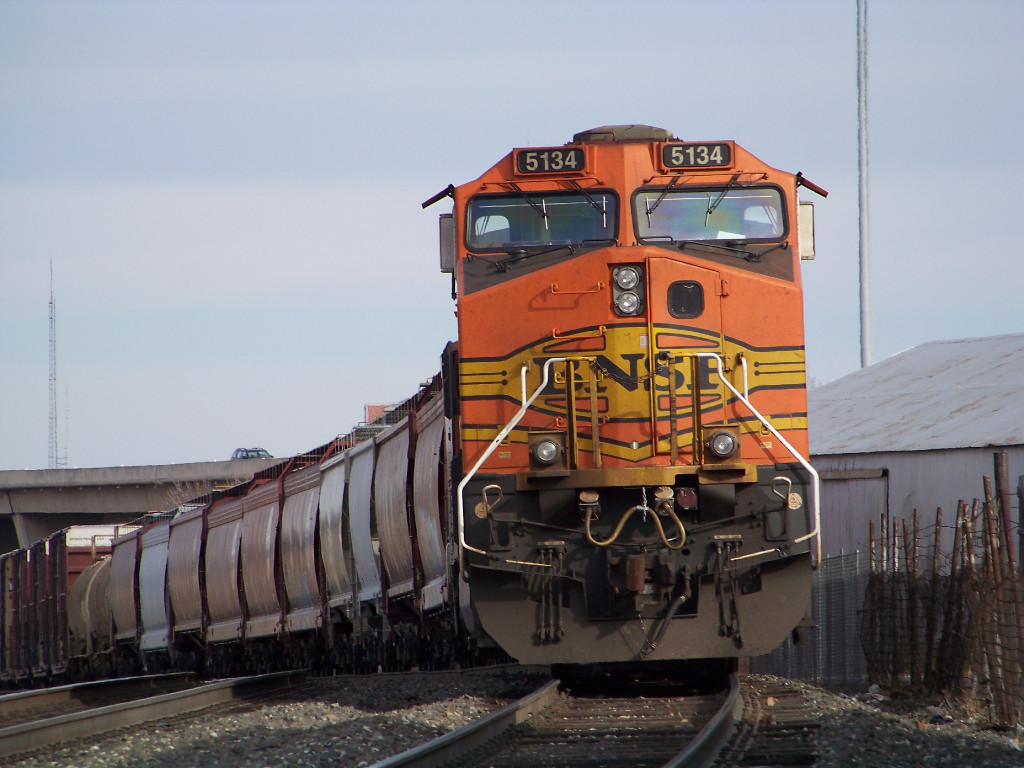 BNSF C44-9W 5134