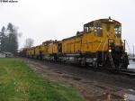 Weyerhaeuser Woods train