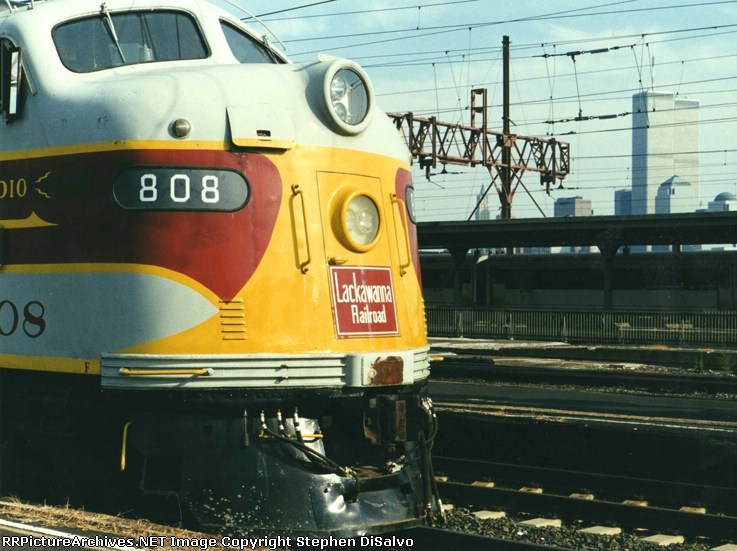 Lackawanna 808 and the World Trade Center