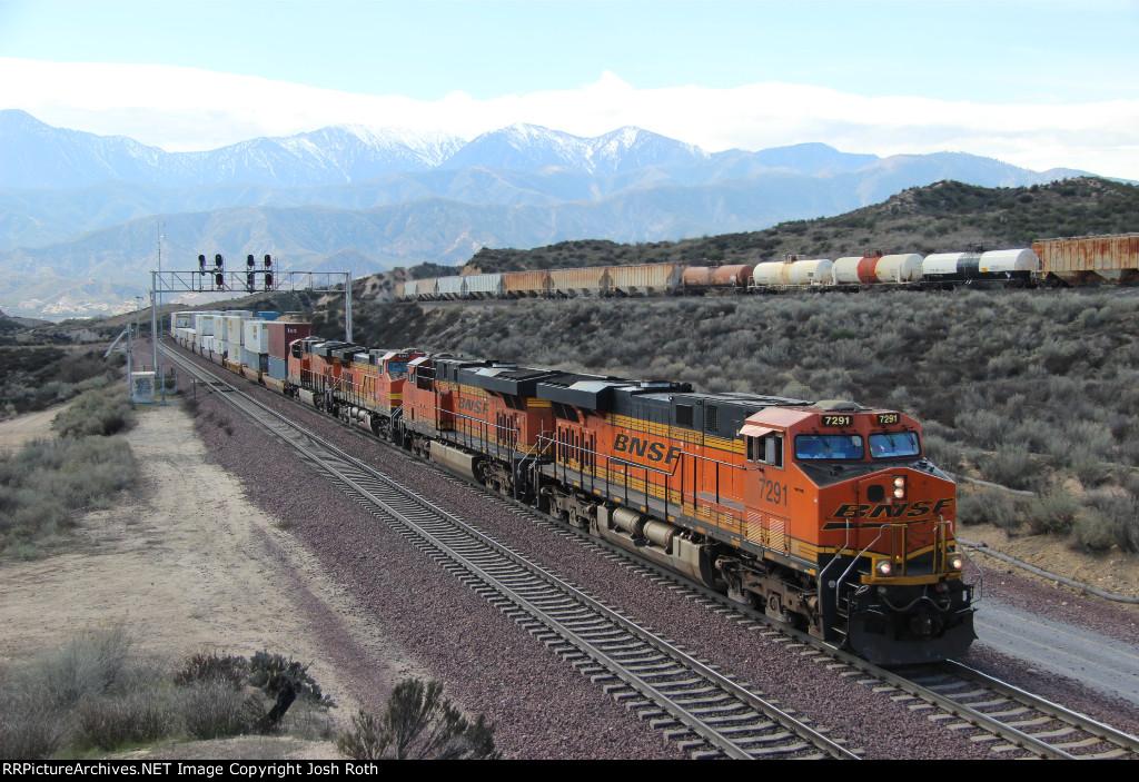 BNSF 7291, BNSF 7335, BNSF 4341 & BNSF 6878