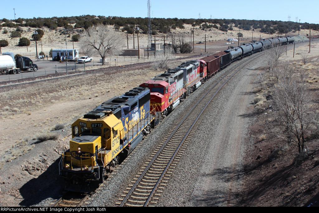 BNSF 8712, BNSF 102 & BNSF 135