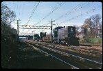 Alco-powered Work Train at Rye, N.Y., 1971