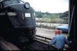 Engine Change at Croton-Harmon, 1972