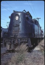 Unbroken, Unbowed (GG1 #4872 at South Amboy, 1983)