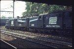 Double-Headed GG-1s at Trenton
