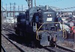 Alco RS-3 5505 in the Bronx, 1972