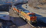 BNSF 6067 Leads a Massive set of power on a empty coal.