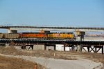 UP 5609 Brings a Eb coal up with Bnsf 2nd out.
