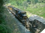 Can't hide the fact that this was a Rio Grande loco!