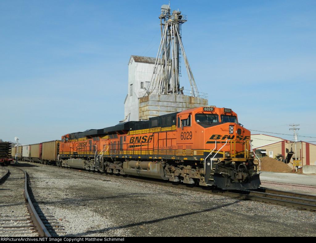 BNSF 6029 - DPU #2