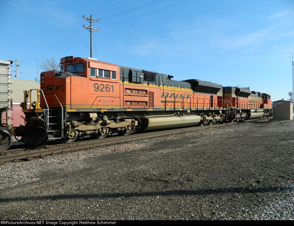 BNSF 9261 Roster Shot