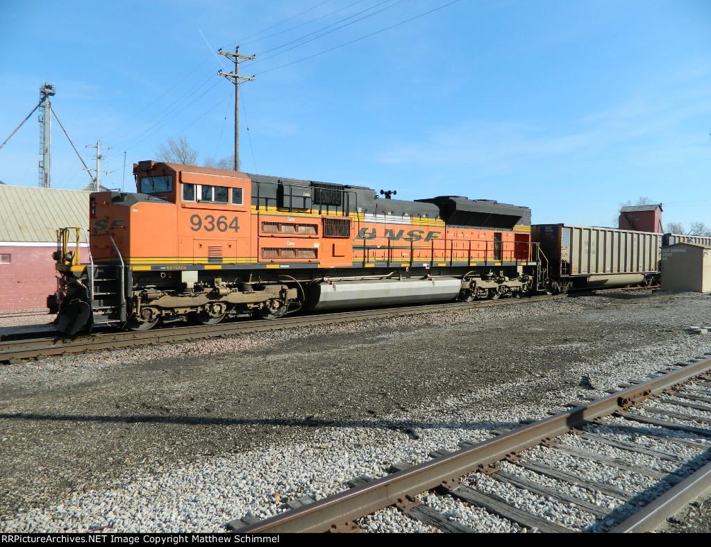 BNSF 9364 - DPU