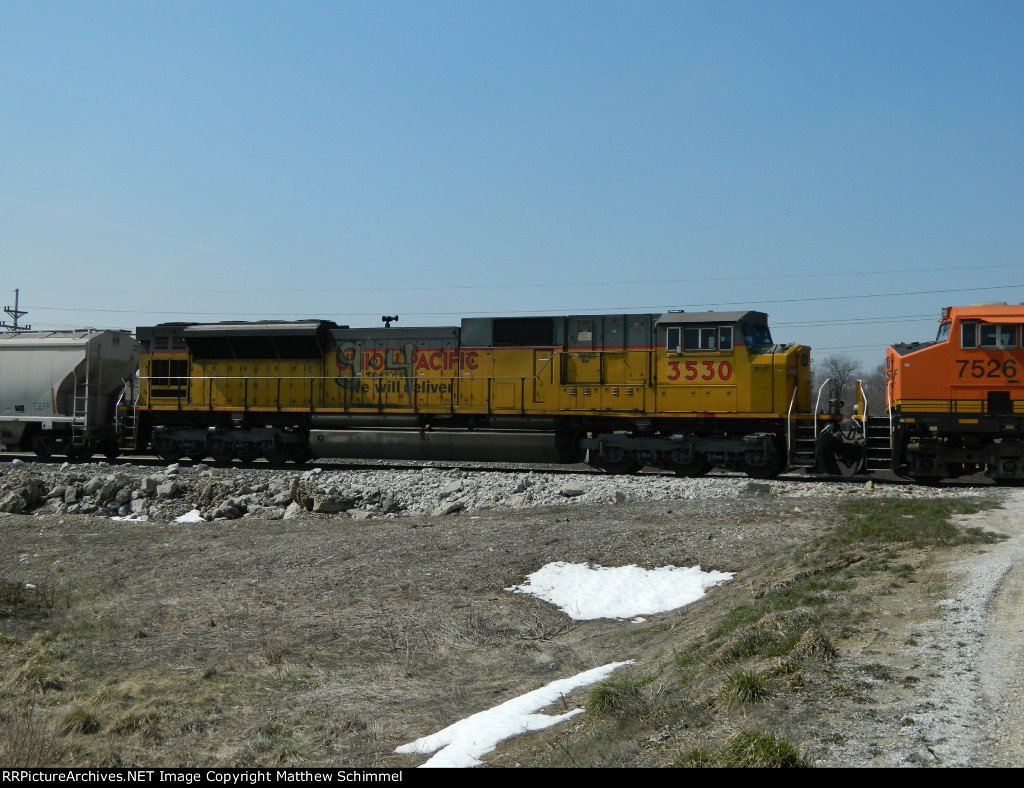 UP SD90 On The K-Line