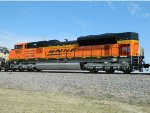Rear Shot Of BNSF 9100