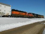 Another Shot Of CN 5748 & BNSF 2033