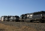 SD40E helpers & stack train