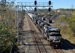NS SD70M-2 2700 leads 20K