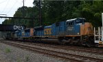 CSX SD70ACe 4849 is the fourth of four units on L140-30