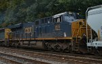 CSX ES44AH 966 trails on Q300-09