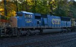 CSX SD70AC 4743 on Q410-17