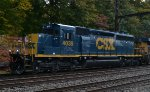 CSX SD40-3 4039 trails on Q703-18