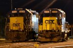 CSX GP38-2s 2624 and 2735