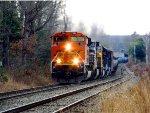 Loaded Oil Train