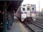 SEPTA 5714 express arrives