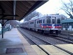 SEPTA 1521 arrives Radnor